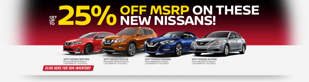 Wonderful Get Up To 25% Off MSRP On Select Nissan Models At Passport Nissan Of  Alexandria