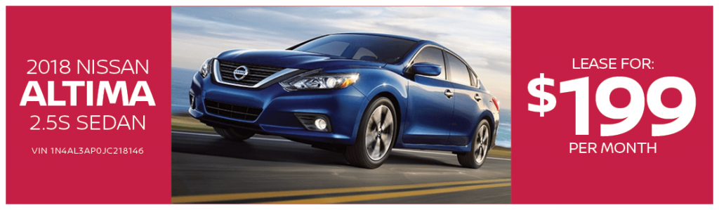 Lease The Nissan Altima At Passport Nissan Va For Only