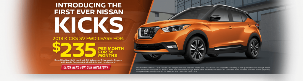 The Nissan Kicks Is Now At Passport Nissan Of Alexandria And Only $235 Per  Month