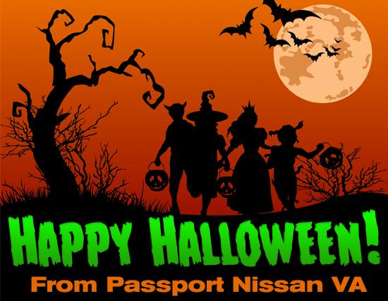 Happy Halloween from all of us at Passport Nissan VA