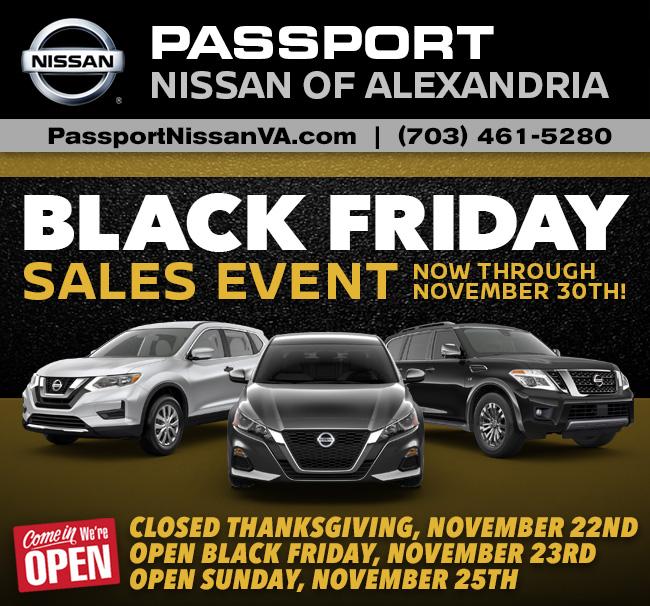 The Passport Nissan VA Black Friday Event Has Arrived ...
