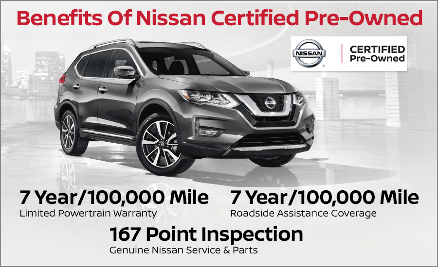 Nissan Certified Pre Owned >> Benefits Of Purchasing A Nissan Certified Pre Owned From